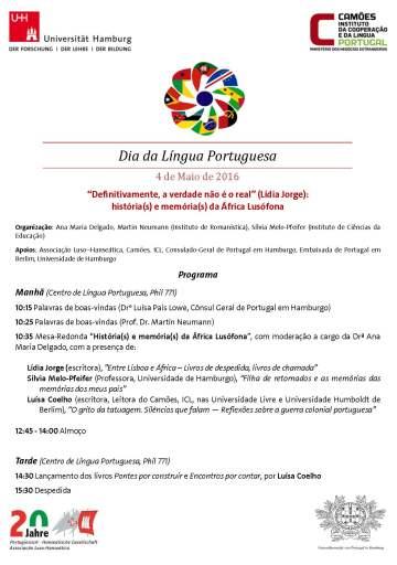 Cartaz Dia da Língua Port. 2016